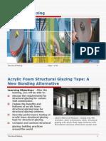 Acrylic Foam Structural Glazing