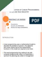 LP Application Oil Gas
