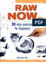 Draw Now- 30 Easy Exercises for Beginners