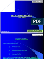 VALUACION DE PUESTOS