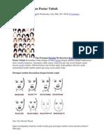 Bentuk Wajah Dan Postur Tubuh