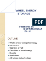 flywheel energy storage by bhupendra kumar , srmgpc