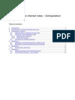 QIS 5 Risk-free interest rates – Extrapolation method
