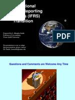 International Financial Reporting (Final) 8 (Far)
