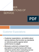 Customer Expectations of Service[1]