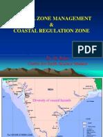 Coastal Zone Manangement & Coastal Regulation Zone