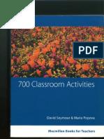 700 Classroom Activities Seymour&Popova
