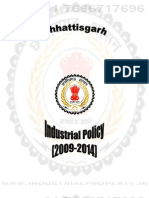 Chhattisgarh Industrial Policy 2009 - 2014