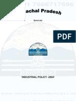Himachal Pradesh Industrial Policy 2004