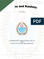 Jammu & Kashmir IT Policy