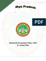 Madhya Pradesh Industrial Policy 2010