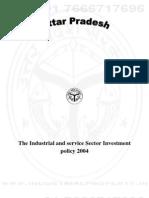 Uttar Pradesh Industrial Policy 2004