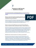 Intro to Security Webinar QA