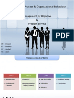101 MPOB Management by Objective