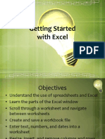 Excel Tranning