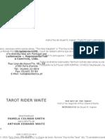 2010 - TAROT RIDER WAITE - 78 Cartas e Instru寤es de uso segundo Arthur Edward Waite - ARTHUR EDWARD WAITE