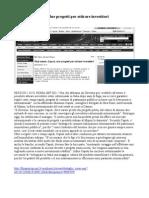 Attrarre investitori esteri - Massimo Caputi - Rassegna Web 8 Marzo 2012