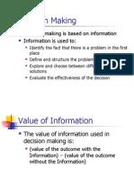 Value of Information in DM