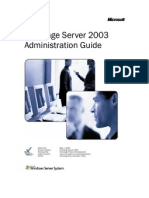 7231939 Microsoft Exchange Server 2003Admin
