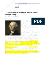 ''I Love George Washington. Except for His Foreign Policy'' -- Michael Maharrey -- Dec 2 '11 -- Florida Tenth Amendment Center