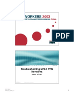 [] Troubleshooting MPLS VPN Networks org
