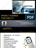 Mobile-number-portability Final Ppt