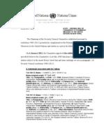 UN list of proscribed Taliban associates--R E F E R ENC E