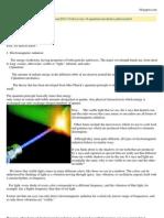 Discovery of Quantum Mechanics Photon
