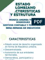Estructura Del Estado Colombiano Colombia Formas De Gobierno