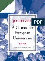 A Chance for European Universities