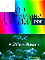 Bubble Power