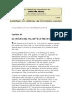 Enrique Arenz - El Origen Del Valor y Los Precios