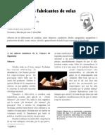 Frederic Bastiat - Peticion de Los Fabricantes de Velas