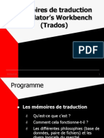 TRADOS - Translator's Workbench (Mémoire de traduction)