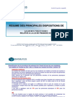 Commentaire Loi de Finance Tunisie 2012