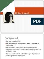 Robin Lakoff