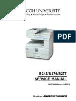 B245, B276, B277 Service Manual
