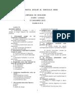 2012 Biologie Etapa Locala Subiecte Clasa a X-A 0