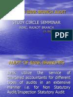 Bank Branch Audit Presentation 2