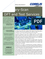 Boundary-Scan DFT and Test Services Benefits Statement