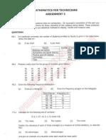 BTEC NC - Maths - Statistics