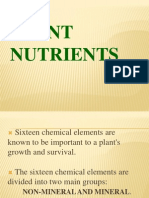 Plant Nutrients, Report q..