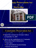 Community Preservation Act Presentation