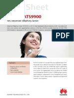 [Data Sheet]ATS9900 IMS Advanced Telephony Server