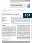 Comparative Evaluation of the Hypolipidemic Effects of Hydroxyethyl