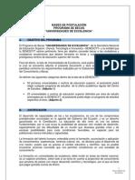 Bases de Postulación Universidades de Excelencia refromas acta No. 51 CEB y 53