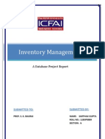 Inventory Management EWIS Project Report