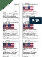 ATIVIDADES bandeira americana