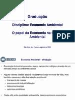 Apresentação  Introdução à Economia Ambiental