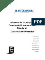 Informe Diplomado Netready-El Informador